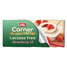 Muller Corner Lactose Free Strawberry 4 Pack