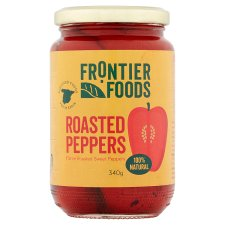 Frontier Foods Roasted Peppers 340G