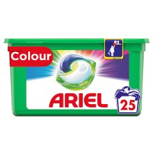 Ariel All In 1 Washing Pods Colour 25 Washes 595G