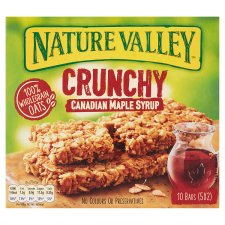 Nature Valley Crunchy Granola Canadian M/Syrp Bar 5X42g