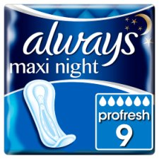Always Maxi Size 3 Night S/Twls 9 Pack