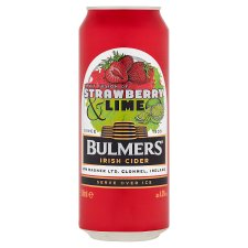 Bulmers Strawberry And Lime Can 500Ml