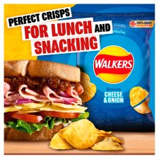 Walkers Cheese & Onion Crisps 32.5 G