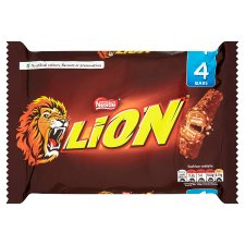 Lion Bar Milk Chocolate Multipack 4 X42g