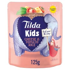 Tilda Kids Cheese And Tomato Rice 125G