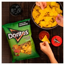Doritos Hint Of Lime Tortilla Chips 230G