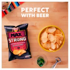 Walkers Max Strong Hot Chicken Wings Crisps150g