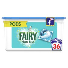 Fairy Non Biological Washing Pods 36 Washes 867.6G