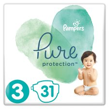 Pampers Pure Protection Size3 31 Nappies
