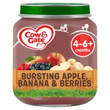 Cow & Gate Stage 1 Apple Banana And Berries 125G