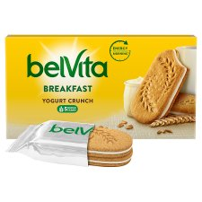 Belvita Plain Yogurt Crunch 253G