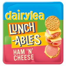 D/Lea Lunchables Ham And Cheese Crackers 83.4G