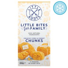 Little Roots Crunchy Corn And Carrot Chunks 200G