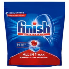 Finish All In One Max Original 31 Dishwasher Tablets