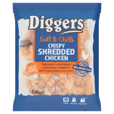 Diggers Salt Ch C Shredded Chicken 320G