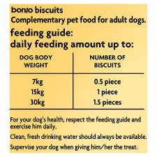 Bonio The Original Biscuit Dog Food 650G