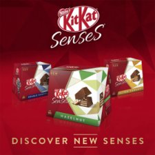 Kit Kat Senses Assorted Box 20 Bite Size Pieces 200G
