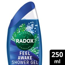 Radox Feel Awake For Men 2 In 1 Shower Gel 250Ml