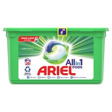Ariel All In 1 Washing Pods Original 36 Washes 907.2G