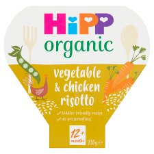 Hipp Organic 1 Year Vegetable And Chicken Risotto 230G