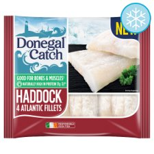 Donegal Catch 4 Haddock Fillets 380G
