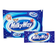 Milky Way Fun Size Minis 14 Pack 227G