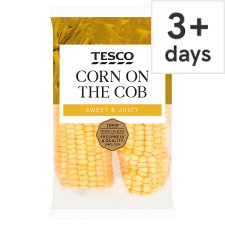 Tesco Corn On The Cob Twin Pack