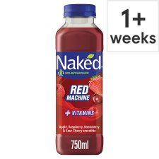 Naked Red Machine Strawberry Smoothie 750 Ml