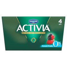 Activia 0% Fat Forest Fruits Yoghurt 4X125g